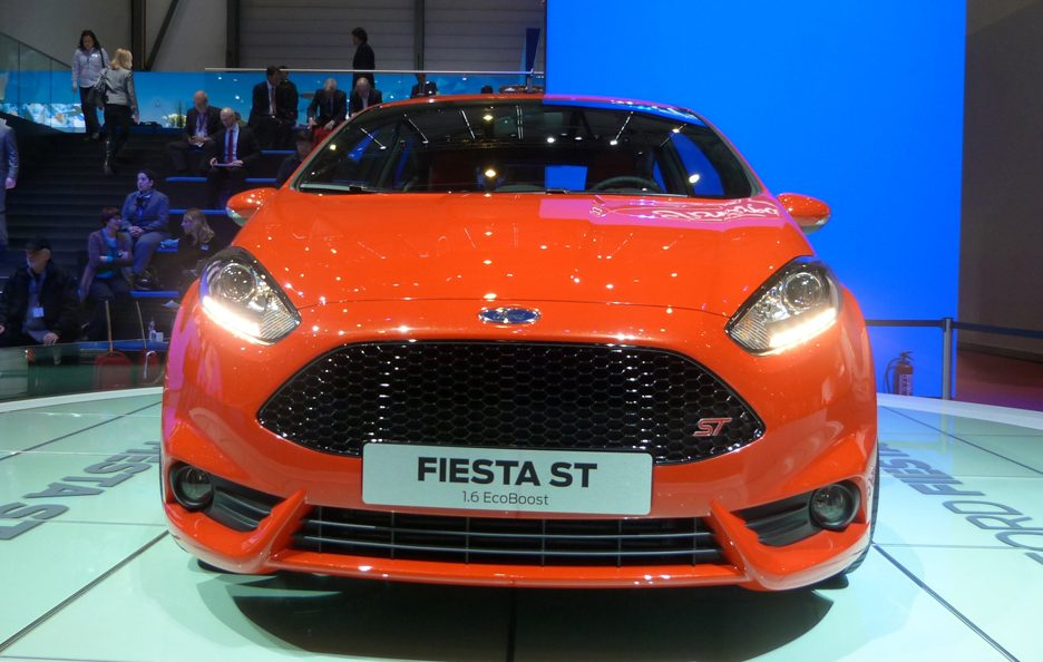 Ginevra 2012 - Ford Fiesta ST frontale
