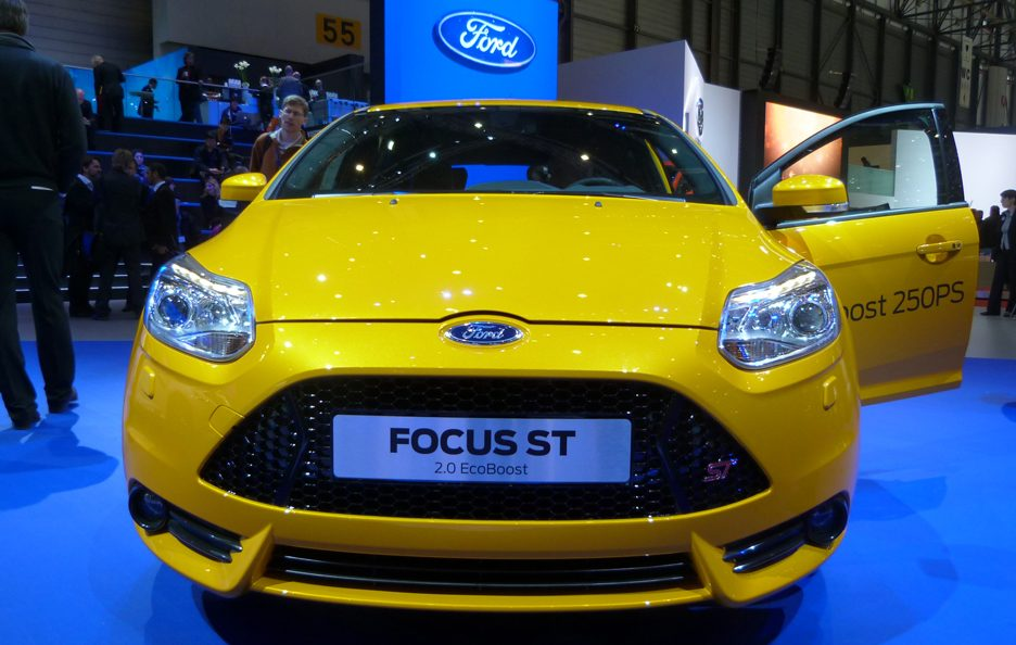 Ginevra 2012 - Ford Focus ST frontale