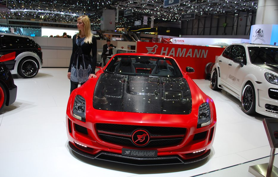 Ginevra 2012 - Hamann - Mercedes SLS AMG Roadster - Frontale alto