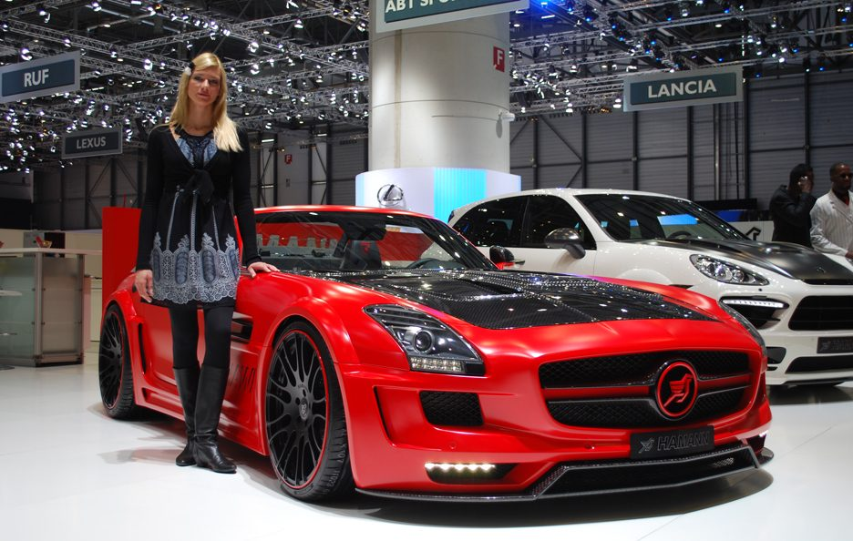 Ginevra 2012 - Hamann - Mercedes SLS AMG Roadster - Profilo frontale