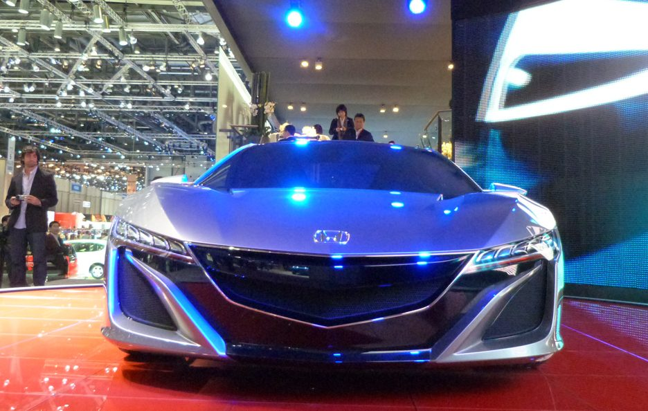 Ginevra 2012 - Honda NSX Concept frontale