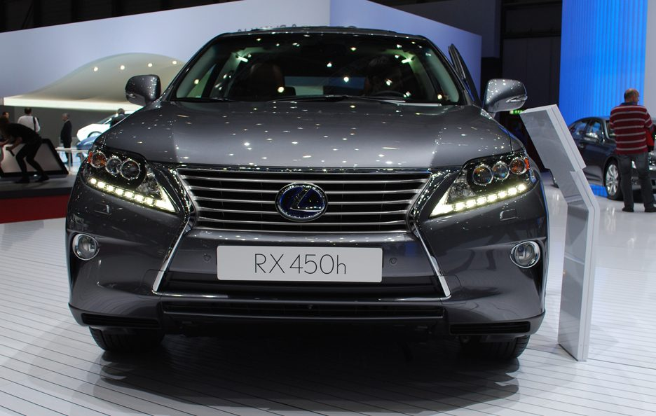 Ginevra 2012 - Lexus RX restyling frontale 2