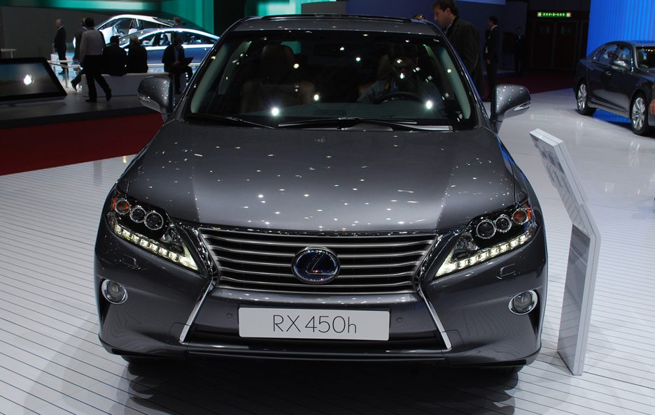 Ginevra 2012 - Lexus RX restyling frontale