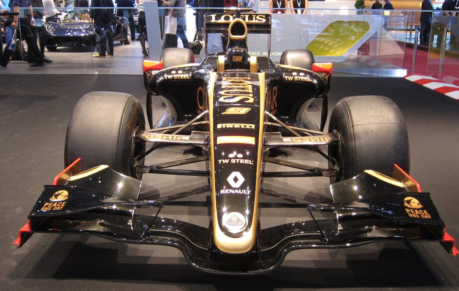 Ginevra 2012 - Lotus F1 frontale