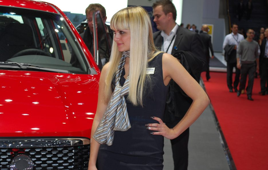 Ginevra 2012 - Ragazze Ssangyong