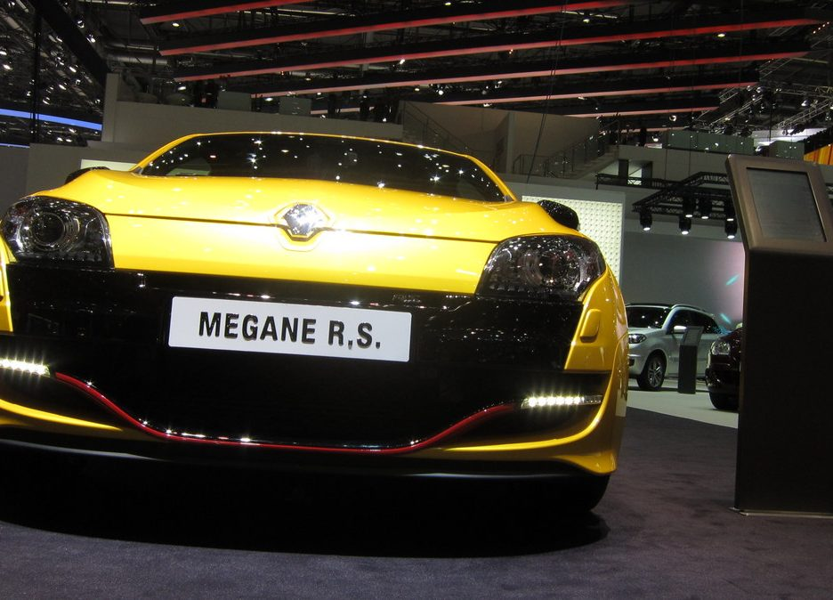 Ginevra 2012 - Renault Megane RS - Il frontale