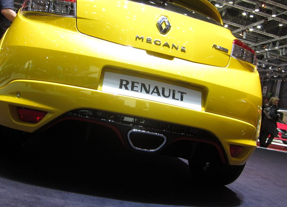 Ginevra 2012 - Renault Megane RS - Lo scarico