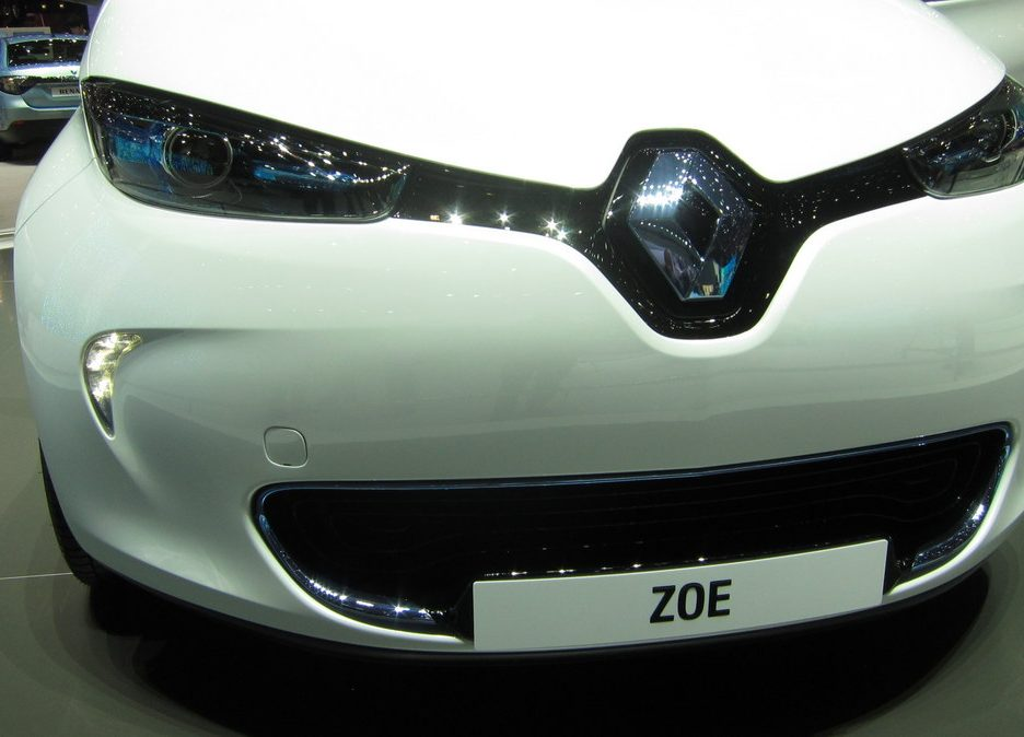 Ginevra 2012 - Renault Zoe - Il frontale