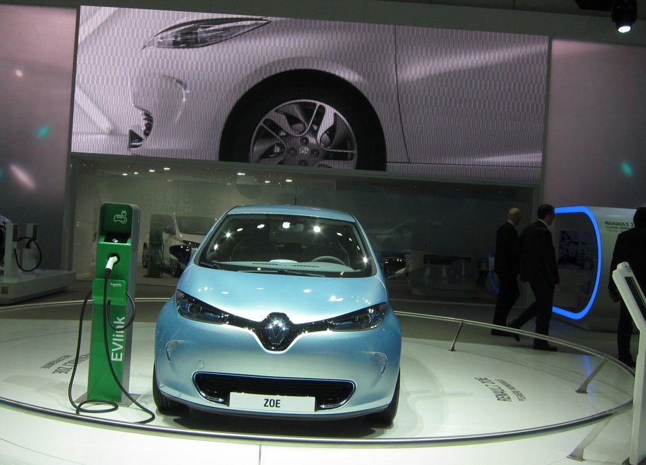 Ginevra 2012 - Renault Zoe - In mostra