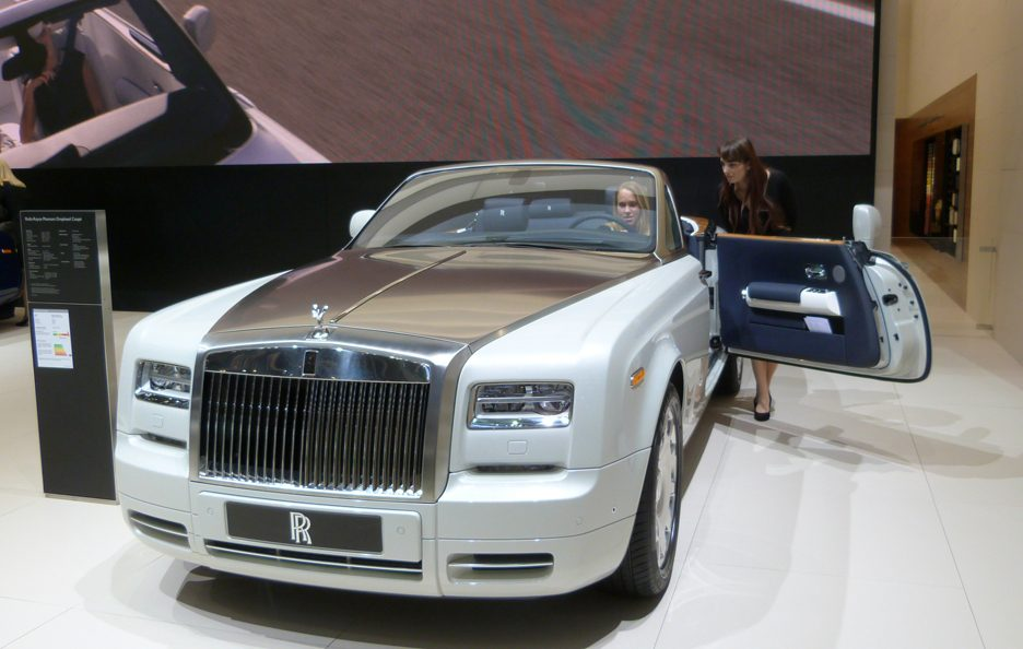 Ginevra 2012 - Rolls-Royce Phantom Drophead Coupé Series II