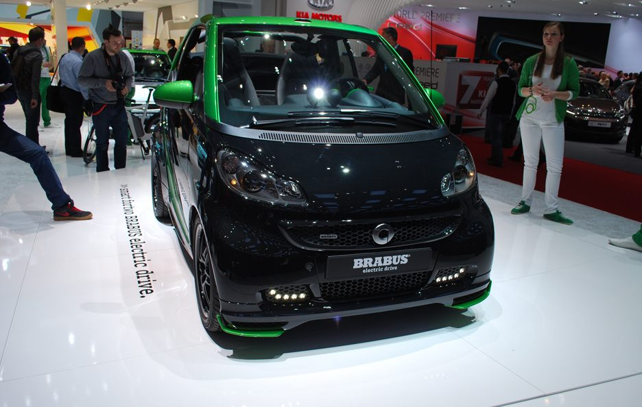 Ginevra 2012 - Smart Brabus Electric Drive - Frontale