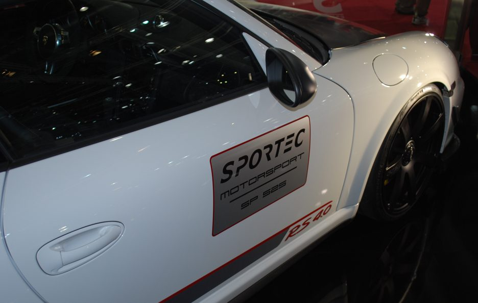 Ginevra 2012 - Sportec - Porsche GT3 RS 4.0 - Stacco laterale