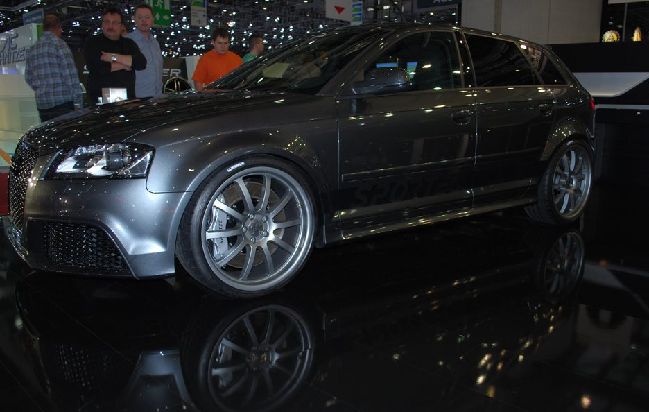 Ginevra 2012 - Sportec - audi RS3 - Laterale