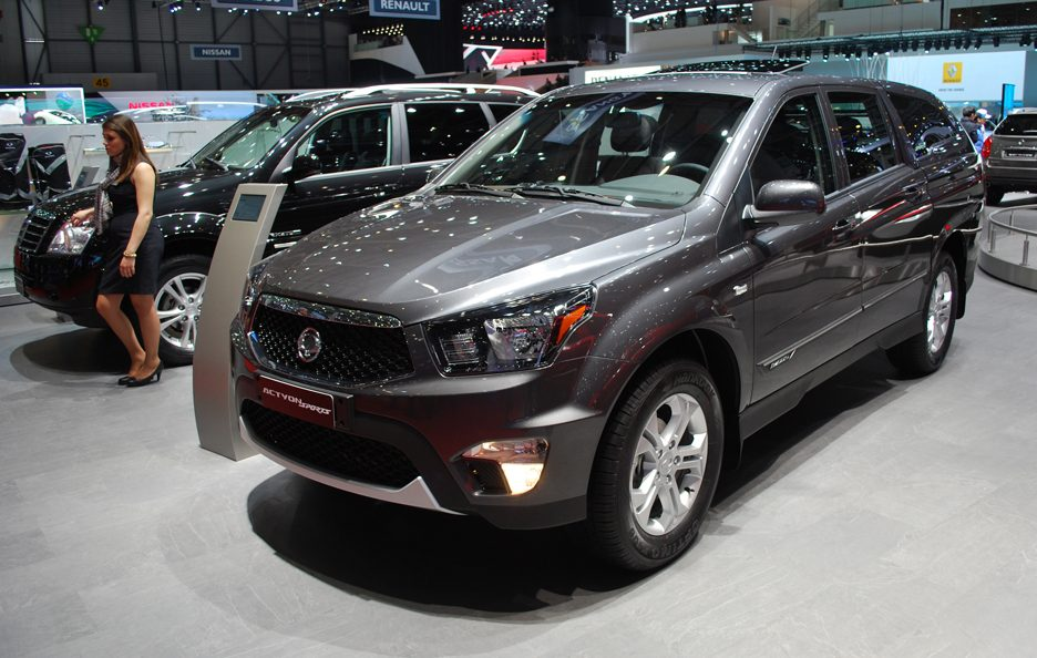 Ginevra 2012 - Ssangyong Actyon Sports