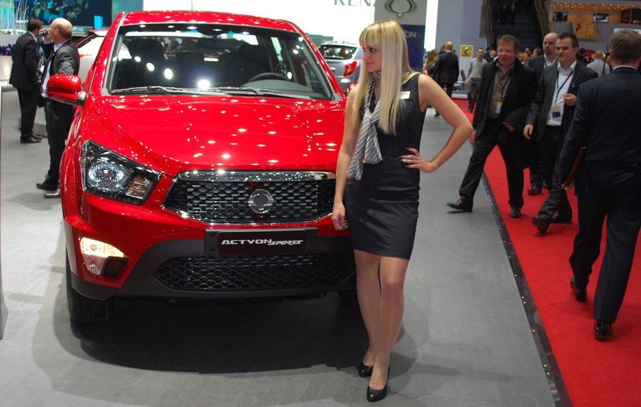 Ginevra 2012 - Ssangyong Actyon Sports frontale