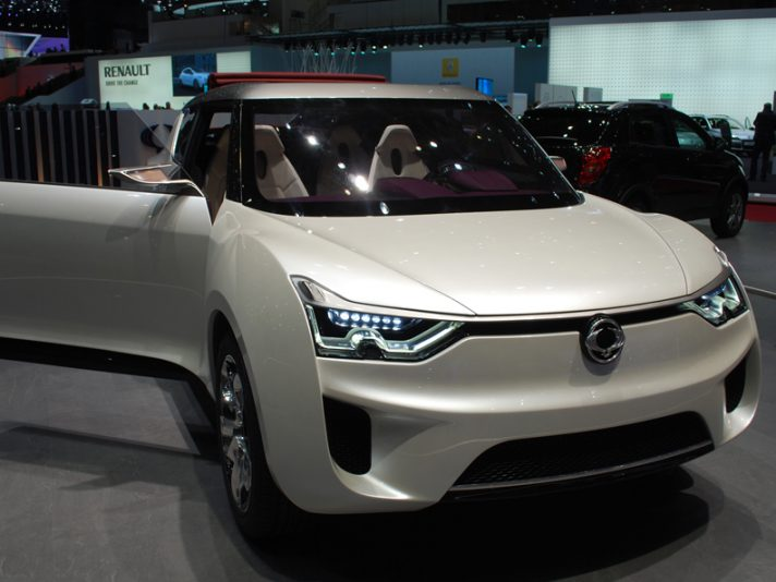 Ssangyong, lo stand - Ginevra 2012