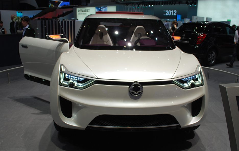Ginevra 2012 - Ssangyong XIV-2 frontale