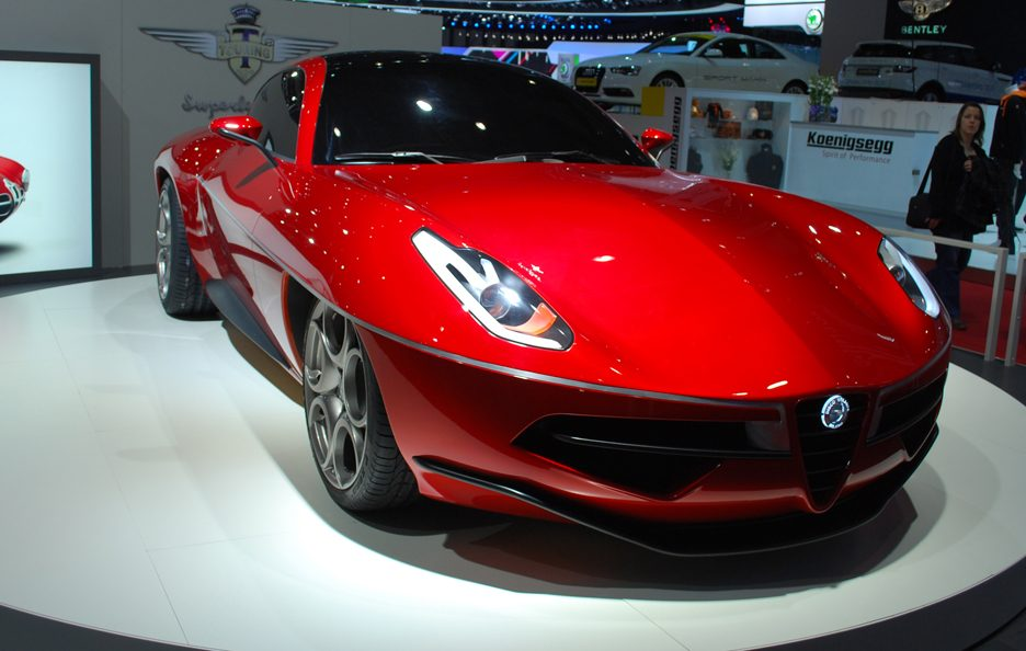 Ginevra 2012 - Touring Superleggera Disco Volante 2012 2