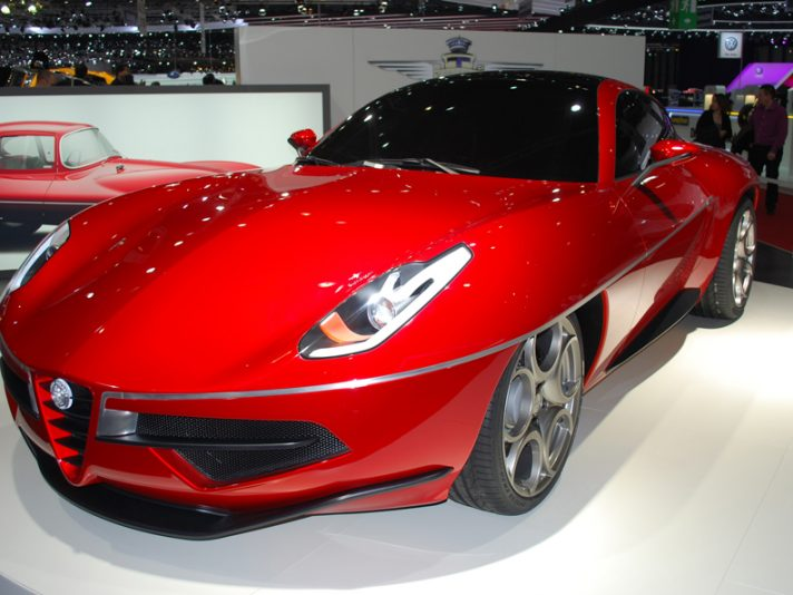 Touring Superleggera Disco Volante - Ginevra 2012