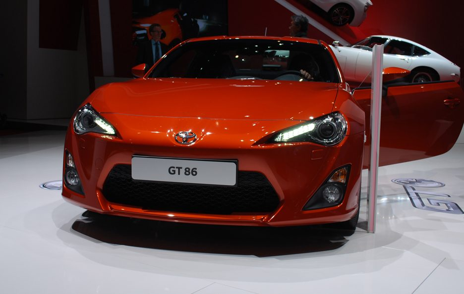 Ginevra 2012 - Toyota GT 86 frontale 2