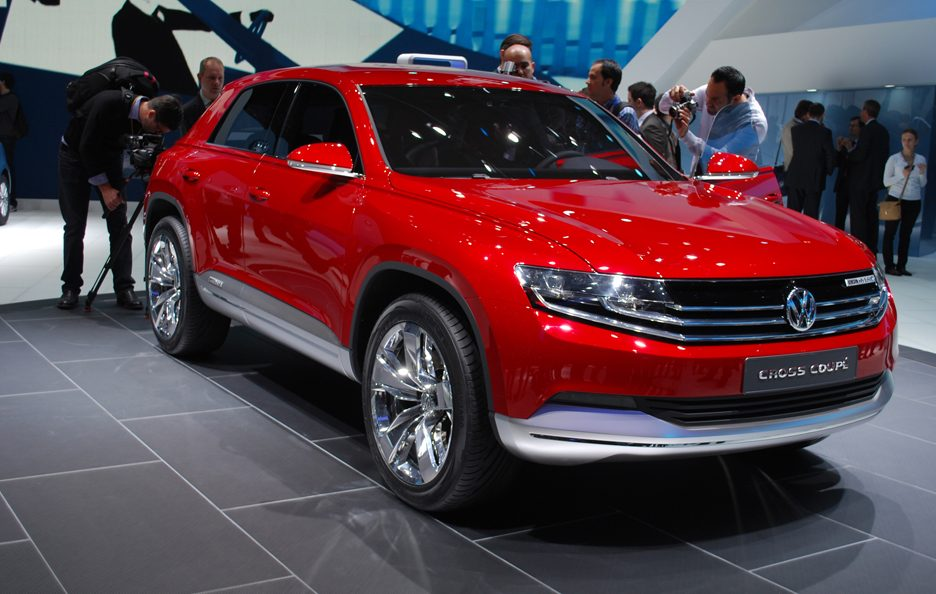 Ginevra 2012 - Volkswagen Cross Coupé