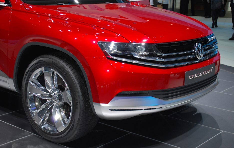 Ginevra 2012 - Volkswagen Cross Coupé mascherina