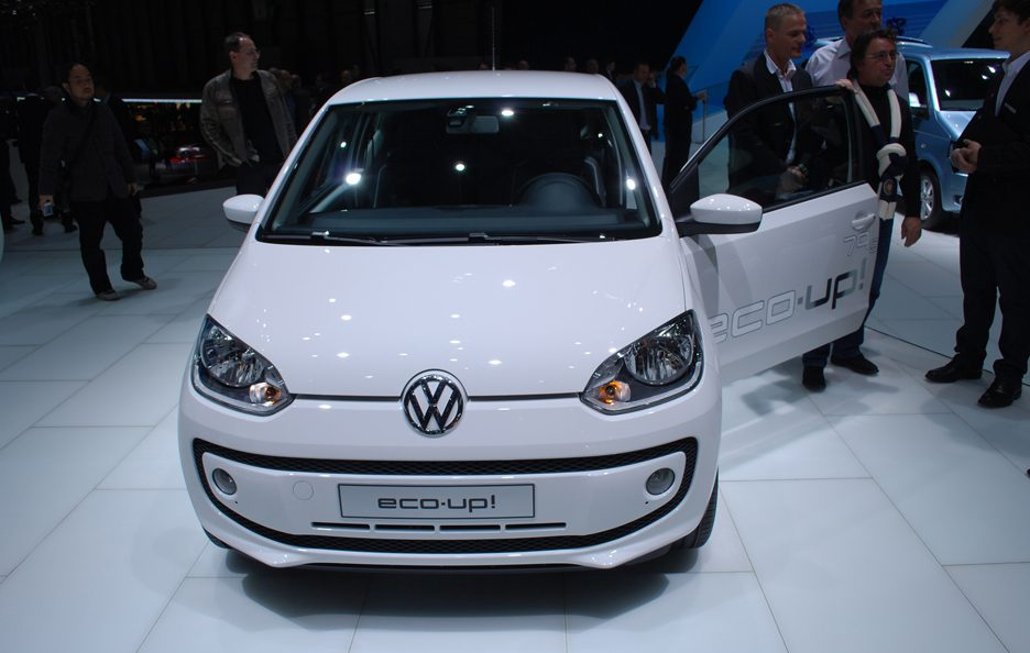 Ginevra 2012 - Volkswagen eco up! frontale