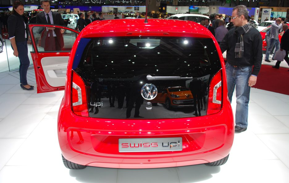 Ginevra 2012 - Volkswagen swiss up! coda