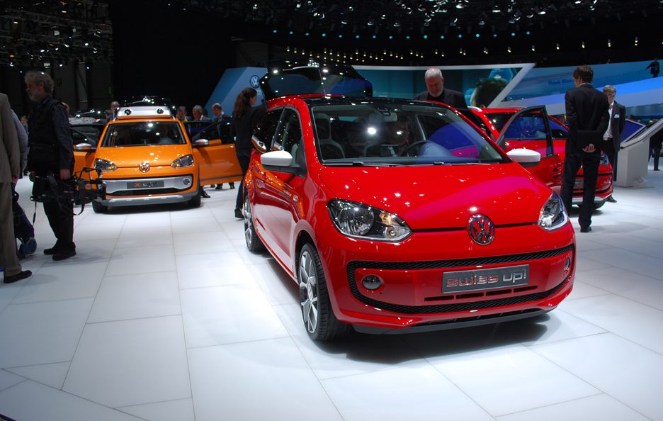 Ginevra 2012 - Volkswagen swiss up!