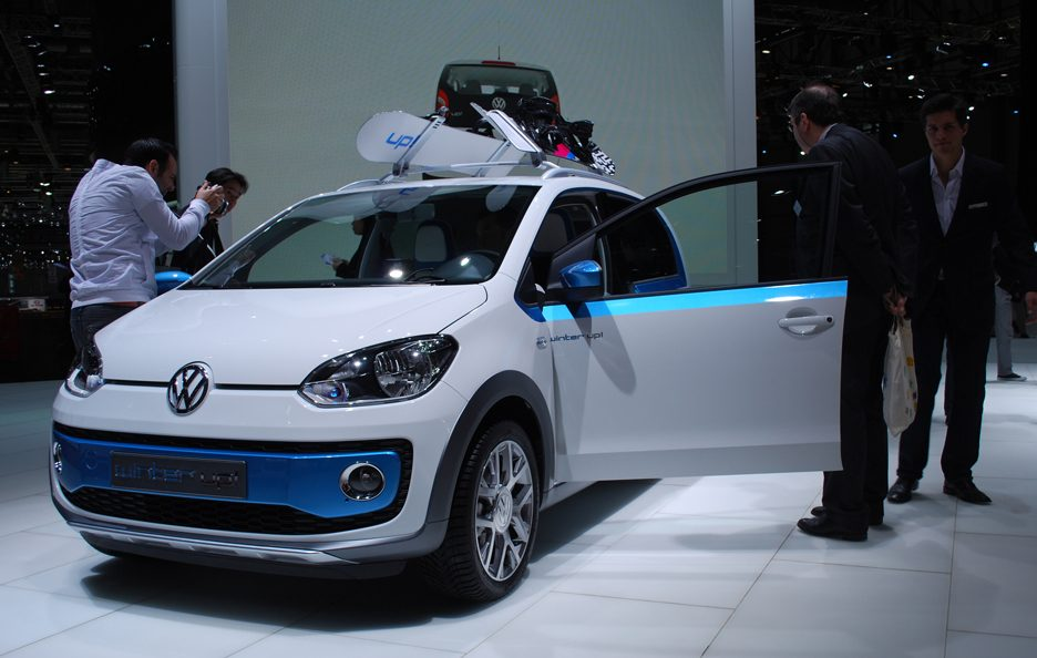 Ginevra 2012 - Volkswagen winter up! 2