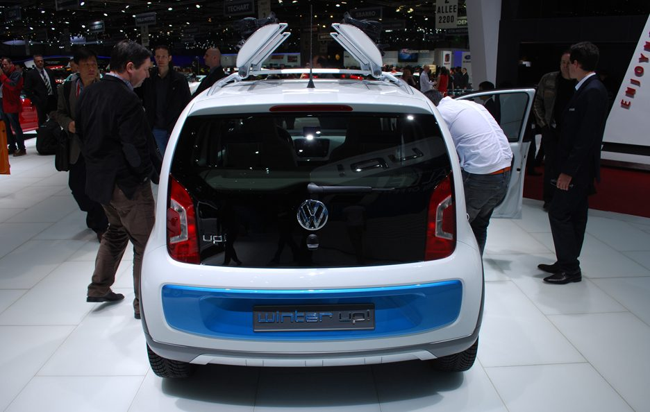 Ginevra 2012 - Volkswagen winter up! coda