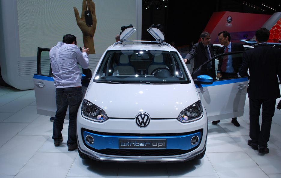 Ginevra 2012 - Volkswagen winter up! frontale