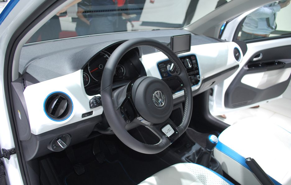 Ginevra 2012 - Volkswagen winter up! interni