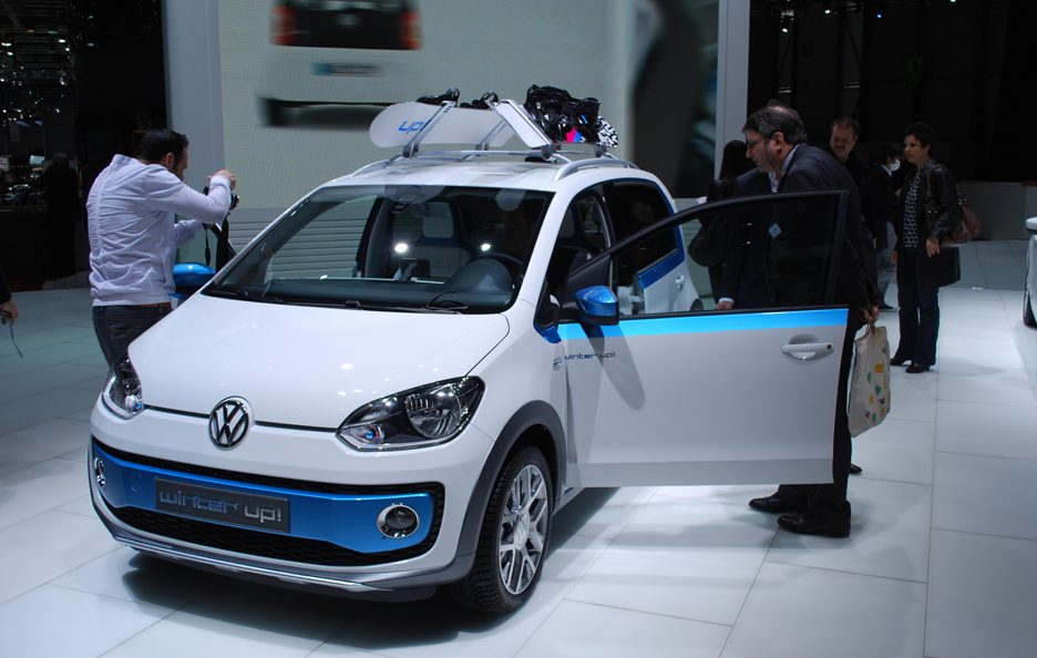 Ginevra 2012 - Volkswagen winter up!