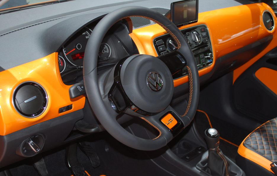 Ginevra 2012 - Volkswagen x up! interni 2