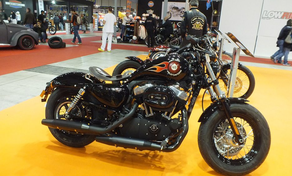Harley Davidson, lo stand