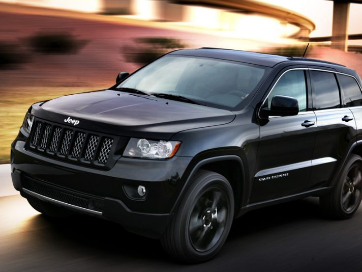 Jeep Grand Cherokee Altitude - In motion