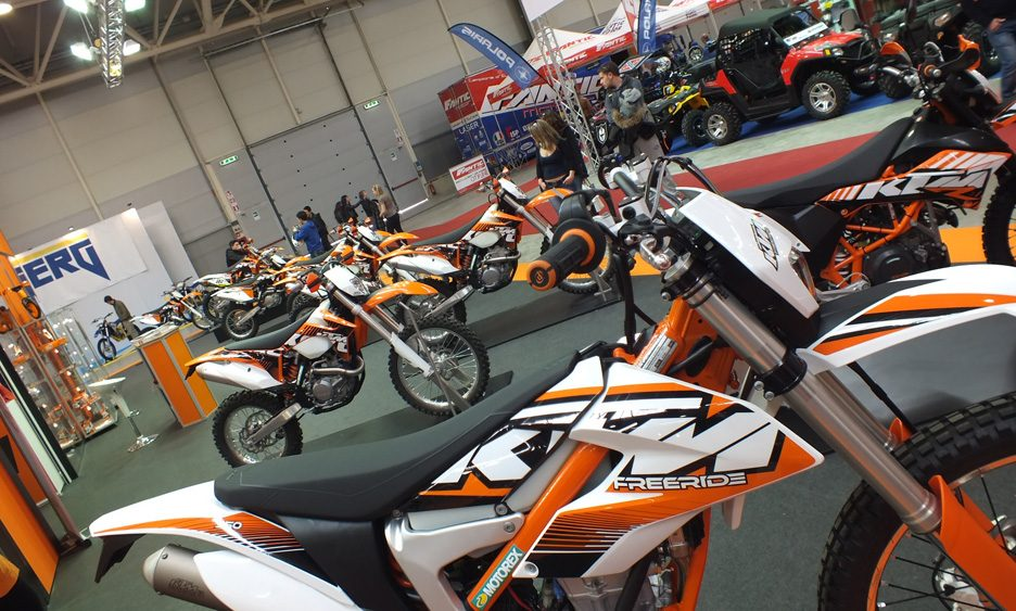 KTM, lo stand