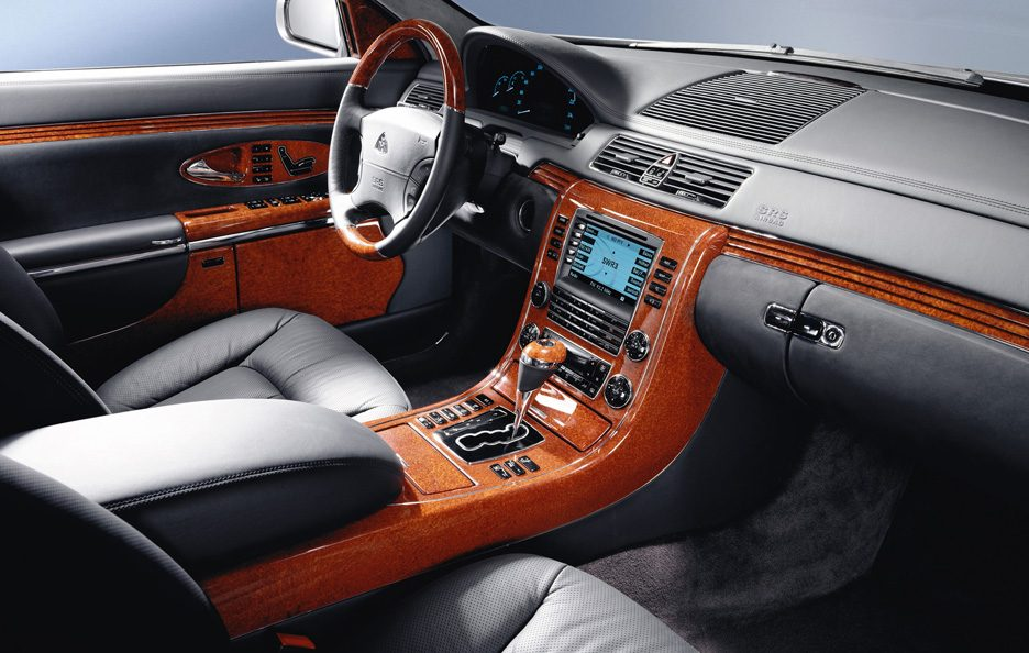 Maybach 62 interni