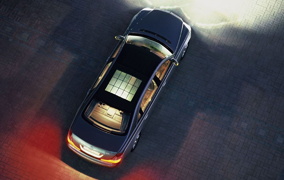 Maybach 62 vista dall'alto