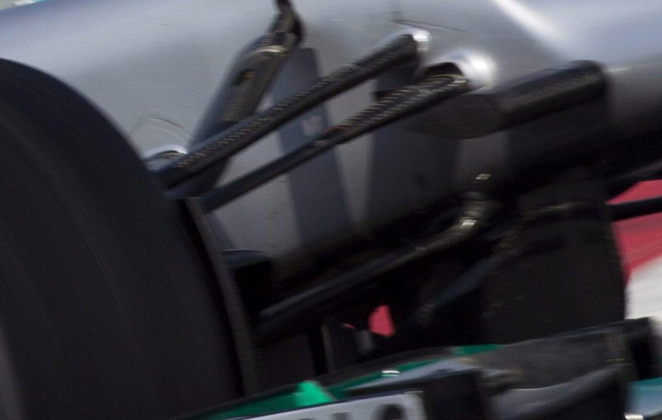 Mercedes F1 W03 push rod