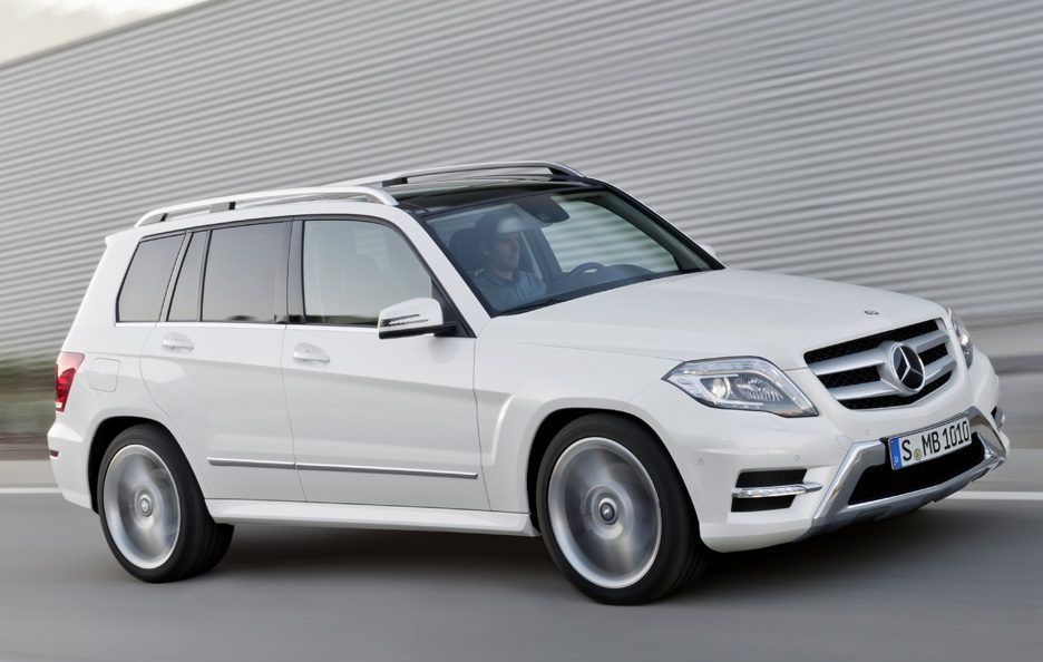Mercedes GLK 2012 - Laterale in motion