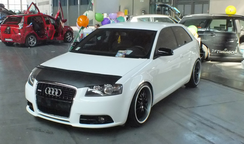 i tuning audi a my special car foto stand panoramauto. Black Bedroom Furniture Sets. Home Design Ideas