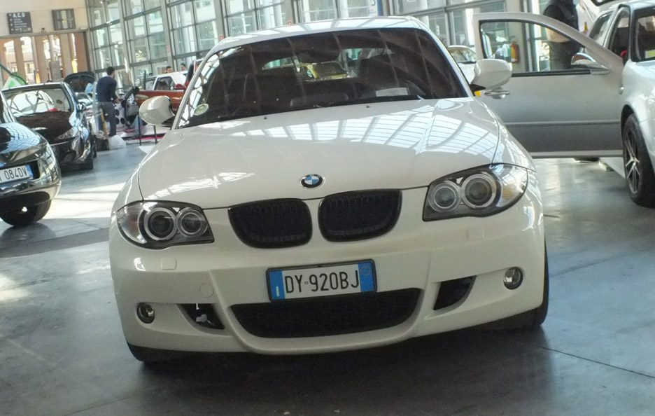 My Special Car 2012 - BMW serie 1 frontale