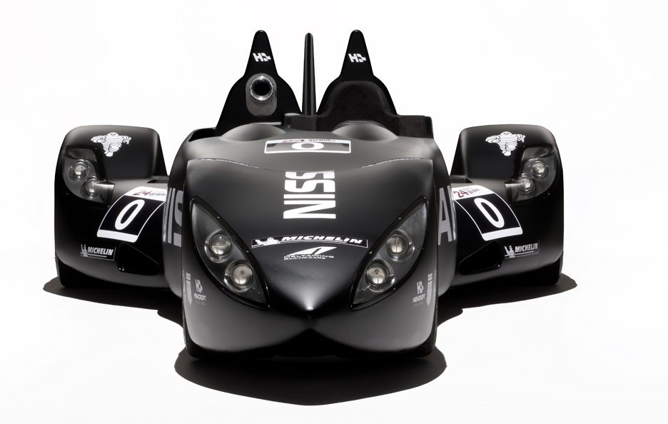 Nissan DeltaWing - Anteriore