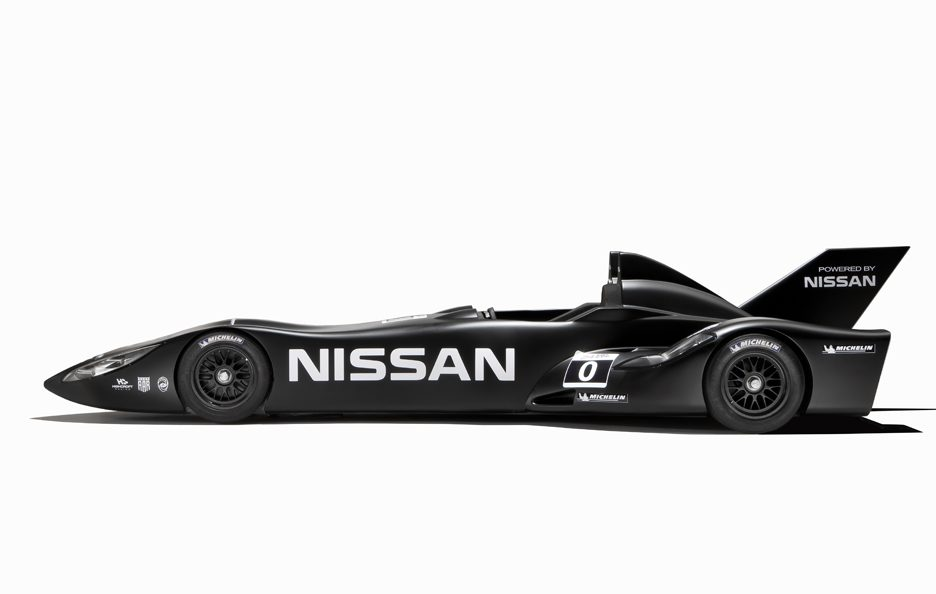 Nissan DeltaWing - Il laterale