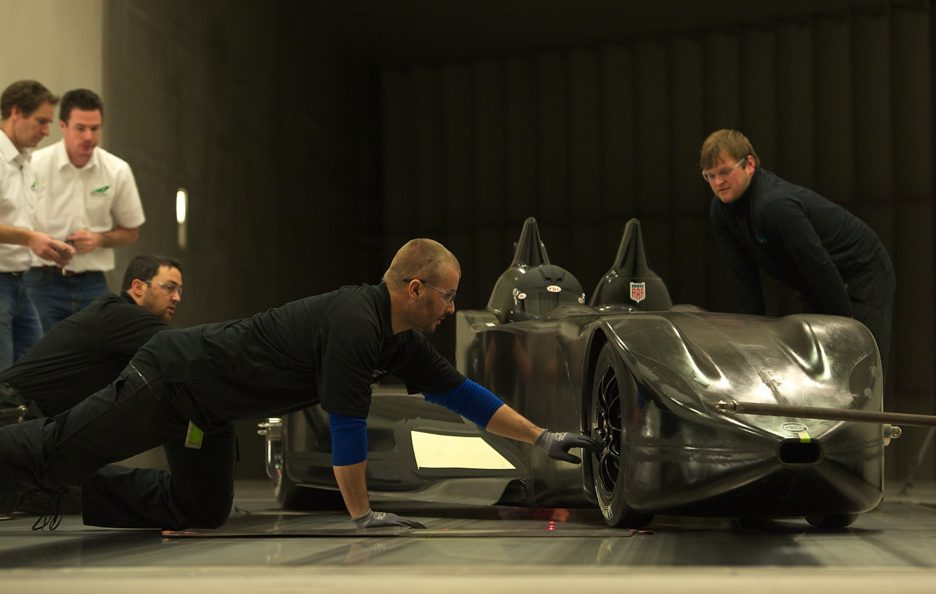 Nissan DeltaWing - In fase di Test