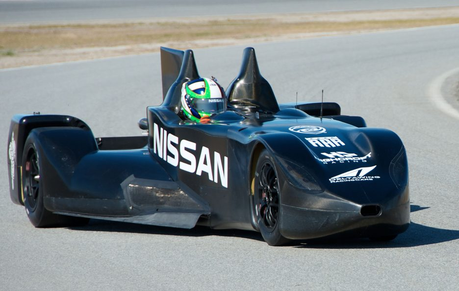 Nissan DeltaWing - In pista