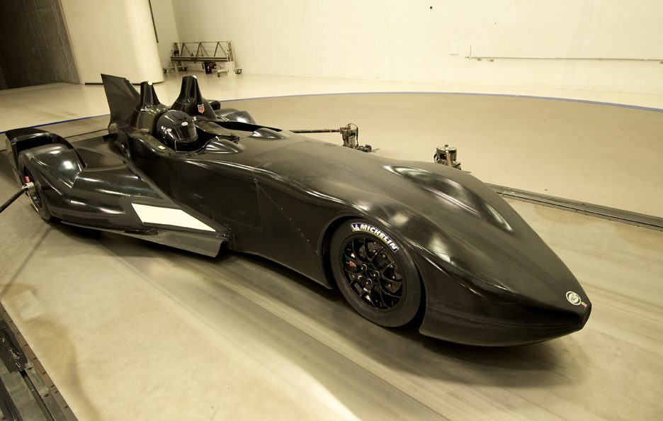 Nissan DeltaWing - Profilo anteriore - Test