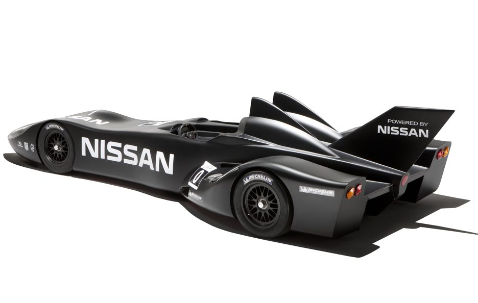 Nissan DeltaWing - Profilo posteriore